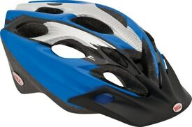 Unisex - Stylish - Blue & Silver - Bell - Cycling Helmet - Like New
