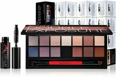 Smashbox 14pc Double Exposure Wet/Dry Eyeshadow Color Palette/ Urban Decay (Dry Eye Shadow Dual Color)