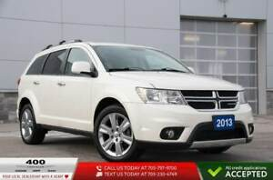 2013 Dodge Journey RT All Wheel Drive Low KM
