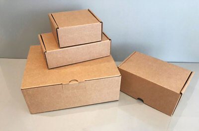 Small Cardboard Boxes ~ 152x92x45mm ~ Pack of 25 ~ Small Postal Boxes ~ LS1BX3K