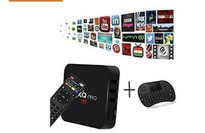 MX Pro Android Box - Extra Bonus keyboard remote &IPTV service