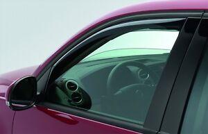 2009-2017 VW Volkswagen Tiguan Front Left & Right Side Window Air Deflectors OEM