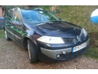Spares or Repair Renault Megan Estate 106bhp DCI Diesel - 7 months MOT, Suspected cambelt failure