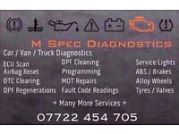 *LIMITED OFFER £40* DPF Diesel Particle Filter Regeneration Limp Modes 99.99% ISSUE SOLVED