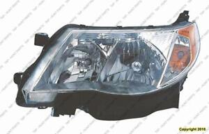 Head Light Driver Side Halogen High Quality Subaru Forester 2009-2013
