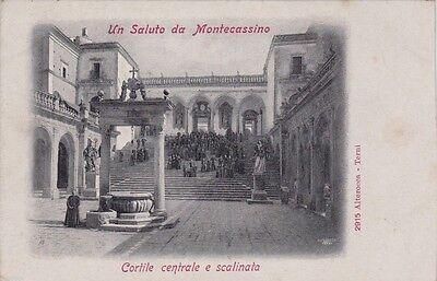 # MONTECASSINO: CORTILE CENTRALE E SCALINATA
