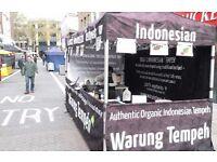 Street Food Assistant (Indonesian Food) - Weds/Thurs/Fri - Leather Lane (near Farringdon)