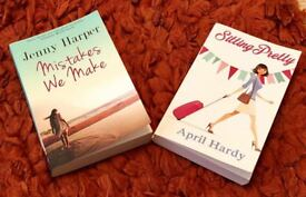 Mistakes We Make by Jeny Harper and Sitting Pretty by April Hardy