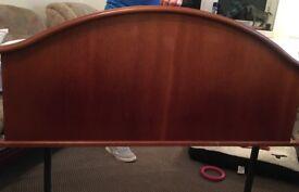 Wooden Headboard (5ft)