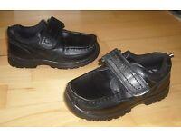 Brand New Children's Black Shoes, Size 12 (European Size 30).
