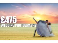 Beautiful wedding photography £475