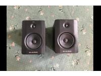 M-Audio BX5 D2 professional studio speakers