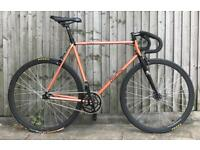 Aphelion copper pearlescent 1962 Fixie/single speed bike 54cm