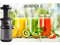 JUISSEN 2 press Slow Masticating Juicer for Fruits Vegetables and Nuts Extractor.