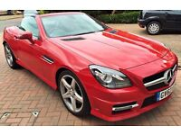 Mercedes SLK 2013 - Fire Opal Red For Sale