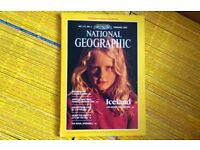 Lot of 120 National Geographic magazines - Collectibles/Wholesale/Car Boot Sale