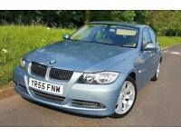 2006 BMW 3 SERIES 325i AUTOMATIC 95k LOW MILEAGE IN GLEAMING BLUE GREAT RUNNER