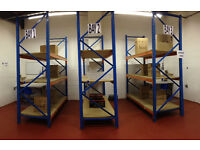 Warehouse shelving - Long Span - Pallet Racking 3 Bays 9 levels - 2.8m High x 2.7m wide
