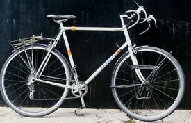 Classic Peugeot Special 103 Carbolite Tube Mens Touring / Commuter / City / Road Bike White