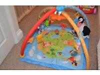 V tech baby gym. Baby play mat . Baby toys