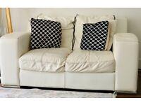 Used DFS cream sofa