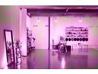 Large Studio Ideal for Photographers/Designers or Creative Professionals- 24/7 Access-SuperFast Wifi