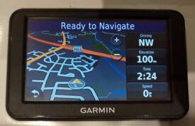 NEW! GARMIN nüvi 40 GPS Sat Nav UK & Ireland + France, Spain & Portugal OR Germ, BeNeLux, Aust, Ita