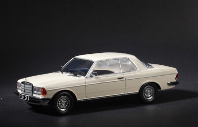 Mercedes-Benz 280 CE W123 1980 White 1/18 Dieccast Model for sale  China