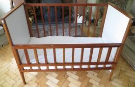 Fantastic - Wooden Baby Cot Bed - Hand Made by Craftsman