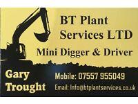 Mini Digger & Driver