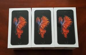Brand New Apple iPhone 6S -Unlocked/Rogers/Telus/Bell/Fido/Koodo/Virgin/WIND/ Apple Warranty!!!***