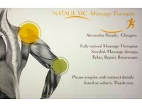 Professional Massage Therapist **evening appointments available**
