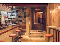 Part Time Bar Staff Required for Burgers & Beers Grillhouse