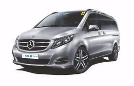 MINIBUS WITH DRIVER AVAILABLE FOR ALL TRAVEL THROUGHOUT UK & EUROPE - ABC TRAVEL 0118 9696969