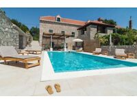 Authentic old-stone villa for rent in Croatia