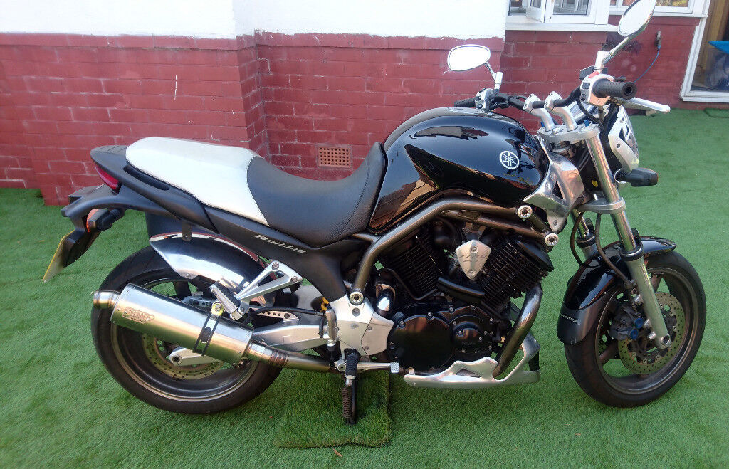 Yamaha Bulldog BT1100 With V Metal And Other Custom Parts Low Mileage Less Than 10K