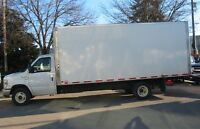 2012 Ford E-450 18 ft gas cube Van (ramp)