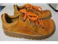 Art shoes size 45 euro/ 10.5. In rare orange colour