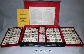 Vintage mah-jong set