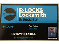 R-Locks locksmith and security