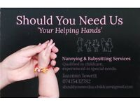 Nannying Services, Qualified in Childcare, Experienced in Special Needs.