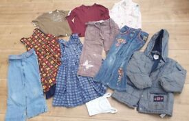 Bundle of girl's clothes for age approx 5yrs / size 116; charity sale