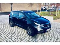 KIA SPORTAGE 1.7 CRDI 2 5d 114 BHP (black) 2012