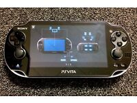 PS Vita with charger. Great condition.