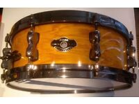 Tama Superstar birch shell Snare Drum. (Custom Order) as new !