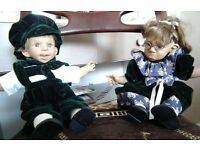 BABY GIRL/BOY TWIN ART MAKA CHARACTER VINTAGE CHEEKY DOLLS EXCELLENT CONDITION open to offers
