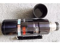 (**BRAND NEW**) Thermos Stainless King Flask (1.2 L - Midnight Blue)