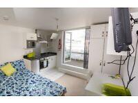 Private Balcony Studio, 43 Wattkin Road, Leicester, LE2 7HY