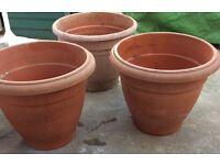 Flower Pot £4 each or £10 for 3 Bargain!