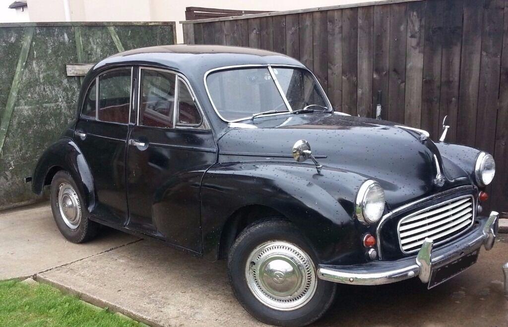 1950\'S SPLIT SCREEN MORRIS MINOR TAX & MOT EXEMPT 4 DOOR CLASSIC ...